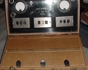 Antique SCHICK Portable COMMERCIAL Repair KIT & Original Lg. Case: Professional Test Equipment, Tools, Repair Parts, Complete, Rare/Unusual