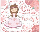 Personalized Princess Puzzle - Gifts for Girls, Personalized Puzzles for Kids, Kids Gift, Kids Personalized Puzzle