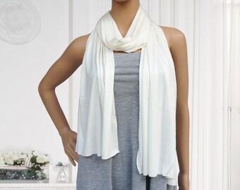 180x60cm cream jersey scarf muslim hijab fashion scarf