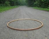 Custom engraved hoop