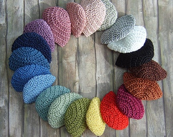 """Crocheted cap for Fashion Royalty, FR2, Poppy Parker, NuFace and other 12"""" fashion dolls"""