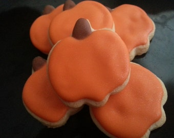 Mini Pumpkin Cookies (3 dozen)