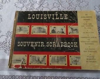 Louisville Souvenir Scrapbook