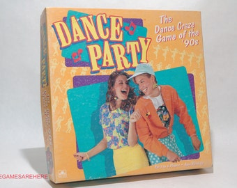 Dance Party Game from Golden 1991 COMPLETE (read description)