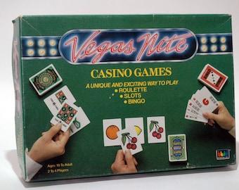 Vegas Nite 3 Casino Games from iGi 1988 COMPLETE
