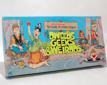 Dweebs Geeks and Weirdos Game from Golden 1988 COMPLETE (read description)