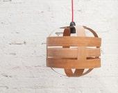 Lantern Medium Lampshade (Cherry wood)