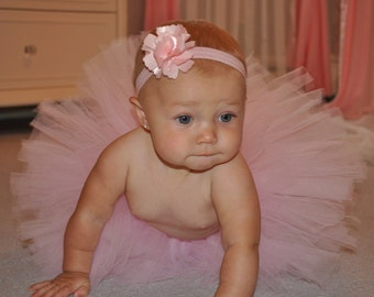 Newborn Tutu, Infant Tutu, Toddler Tutu, Pink Tutu