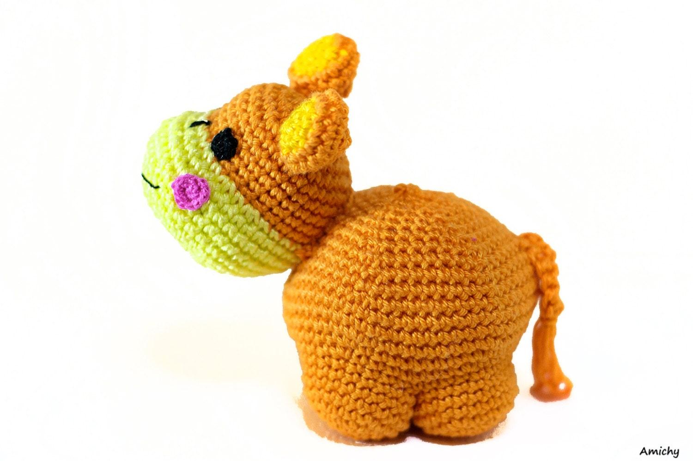 Crochet Animal Pattern Amigurumi Toy Tutorial di Amichy su ...
