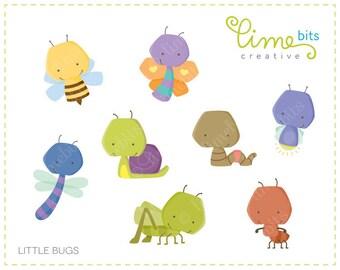 Little Bugs Clip Art