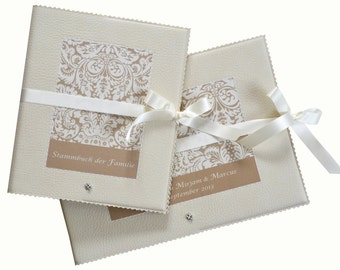Romantic duet from guestbook & DIN A5 Studbook