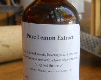 2 oz Pure Lemon Extract