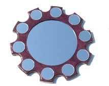 Decorative Wall Mirror Large Wall Mirror inspired by oil painting The Arnolfini Portrait