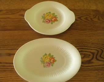 Royal China Pickle Dish and Small Platter