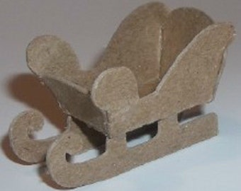 """Little Village Christmas Houses- Two - 1"""" Sleighs"""