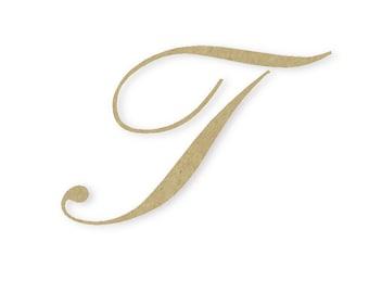Cursive letter t | Etsy
