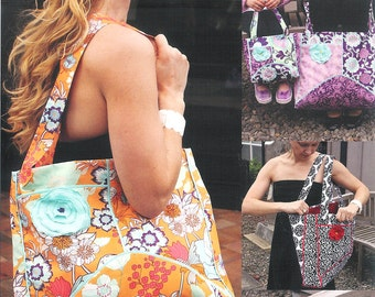 Pattern - Good to Go - Adult & Child Matching Tote Bags Paper Sewing Pattern by Olive Ann Designs (OAD77)