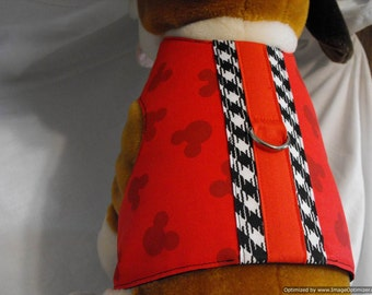 Mickey Mouse harness vest