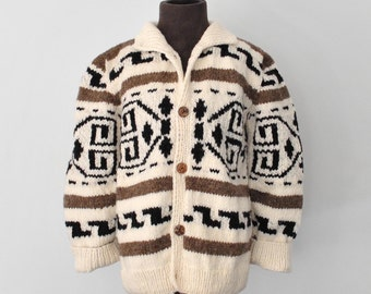 Kids: Big Lebowski / Little Dude cardigan / Cowichan Style Kid's Sweater - made to order 903.101.mto