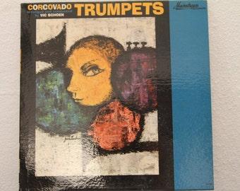 """Vic Schoen - """"Corcovado Trumpets"""" vinyl record"""
