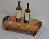 Wine Glass Serving Tray