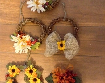 Small Holiday Wreaths