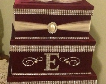 Wedding card box holder