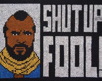 Shut Up Fool Sampler starring Mr T.