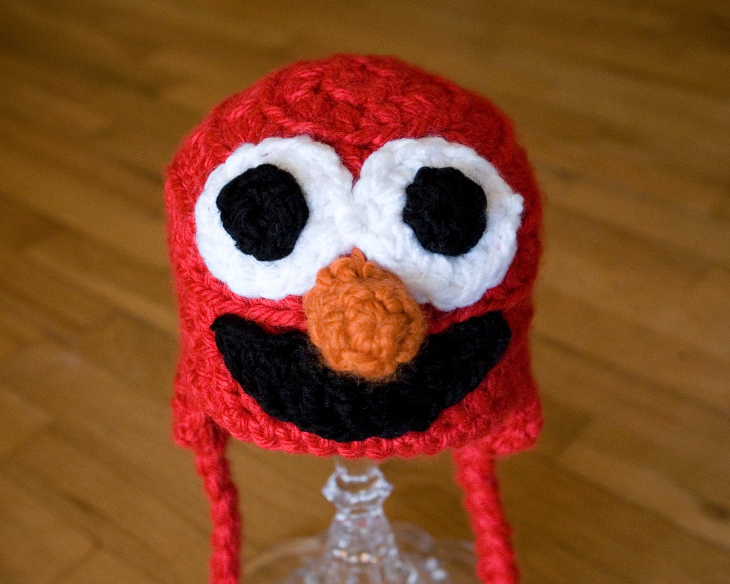 Elmo hat crochet pattern elmo baby hat pattern sesame zoom bankloansurffo Gallery
