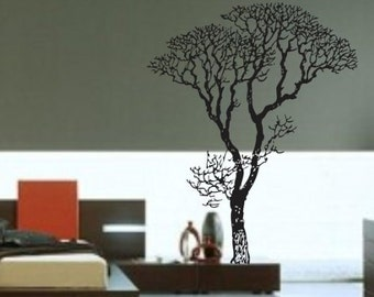 Bare Tree Wall Decal Sticker