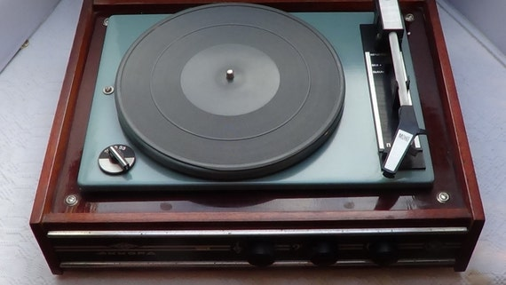 akkord 201 rusian rock around the clock record player 1960. Black Bedroom Furniture Sets. Home Design Ideas