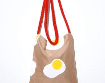 Fried egg bag