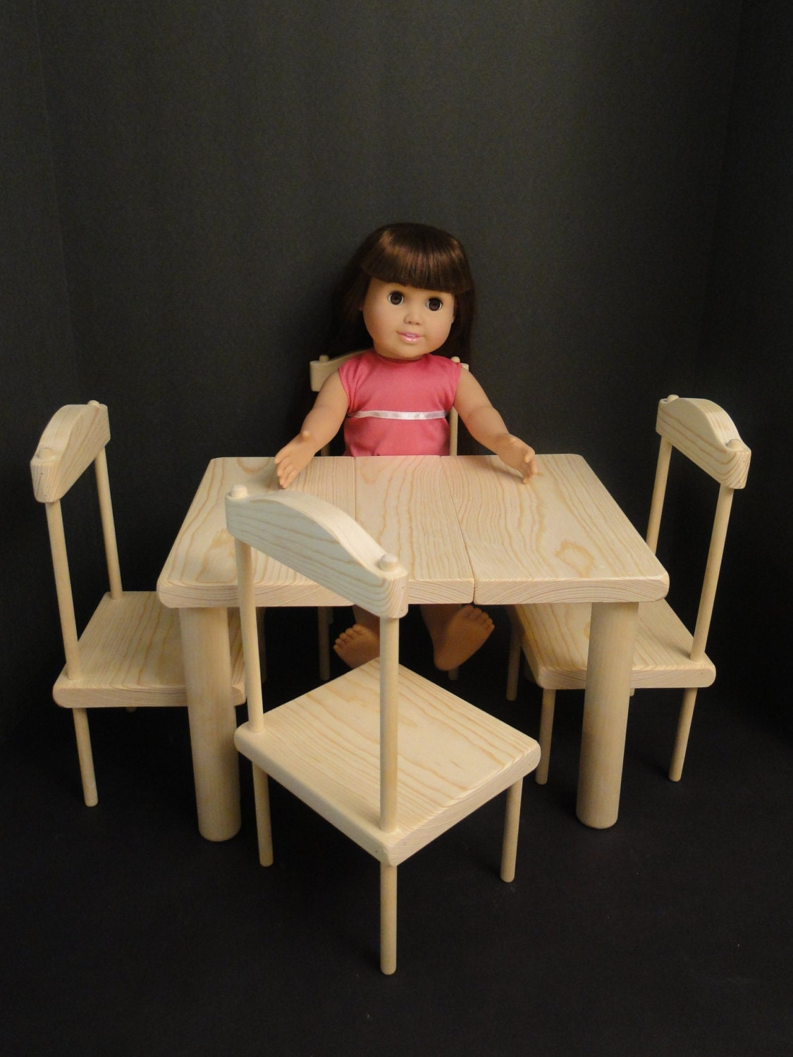Table Chair Set For 18 Inch Dolls 0114