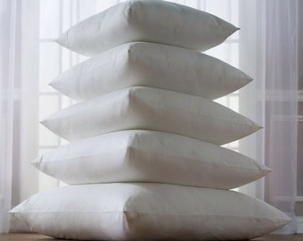 Custom - Made to order Indoor Pillow Inserts hard to find sizes
