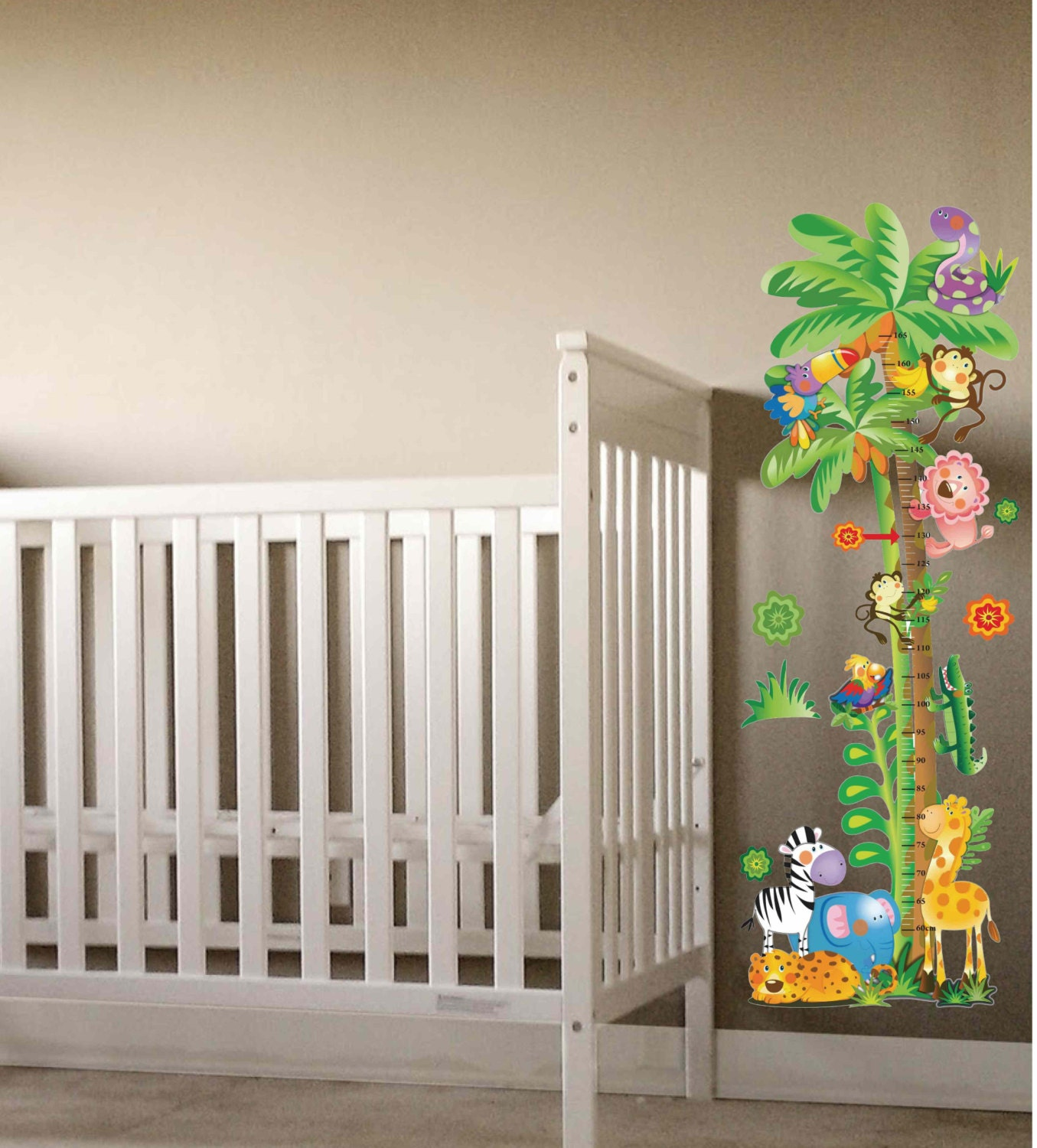 Park Lane Couture Spring Flowers  with animals Fabric peel & stick wall mural decal  sticker at Sears.com