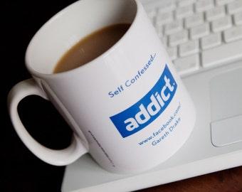 Facebook Personalised Social Networking Mug