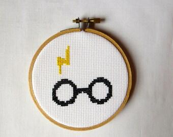 Harry Potter Cross-Stitch