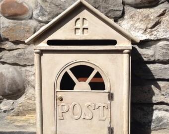 Wooden Wedding card post box
