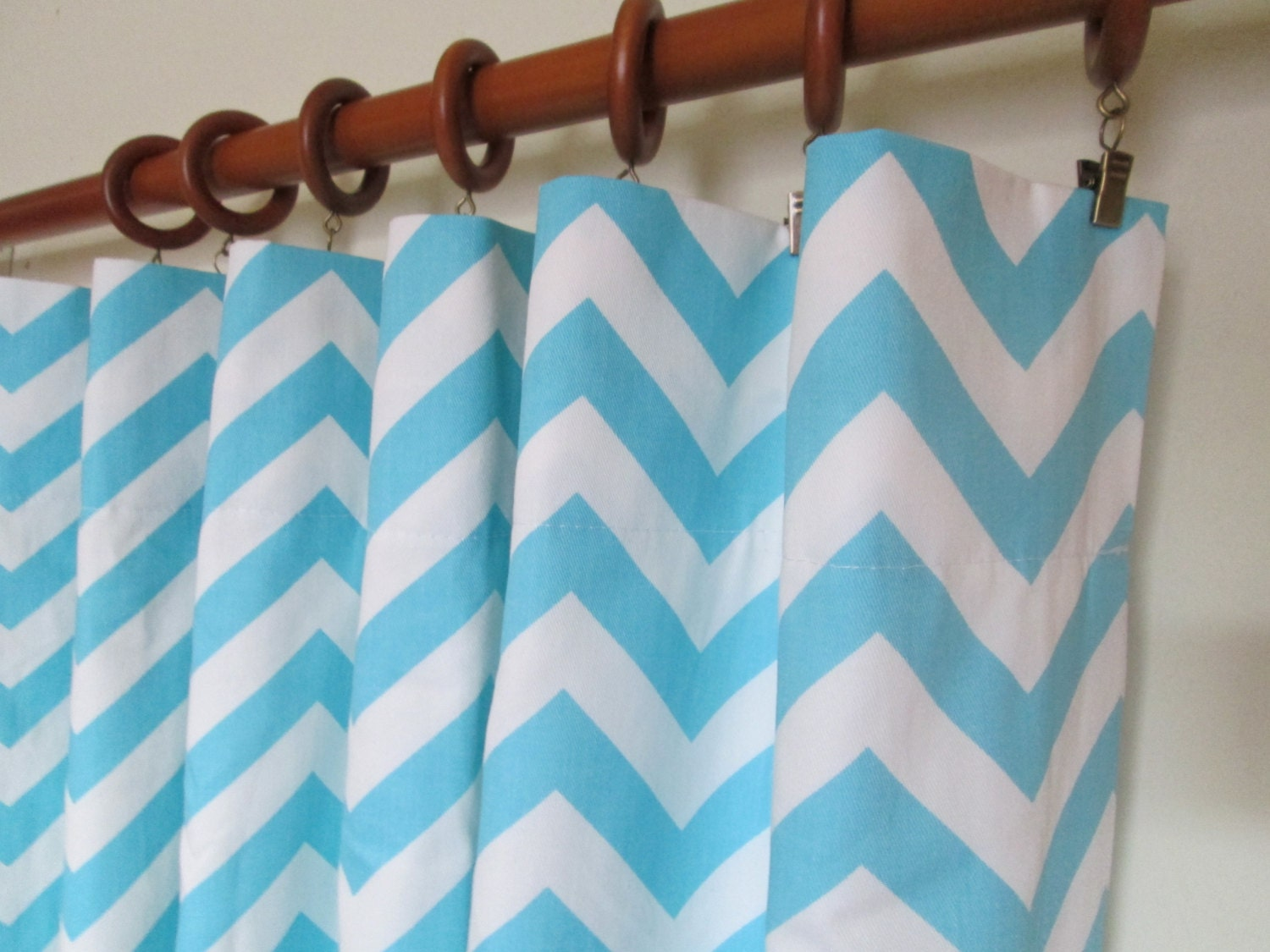 Light blue and white curtains - Light Blue Curtain Zoom