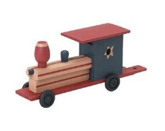 Unfinished Train Wood Craft Kit - Unfinished When Fully Assembled (dar916906)