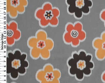 Brown white fabric Etsy