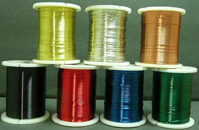 Copper craft wire 28 gauge 24 gauge great for making jewelry for 24 gauge craft wire