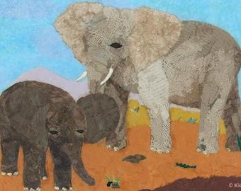 Elephant Savannah (Card)