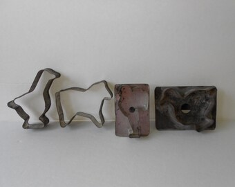Vintage Tin Cookie Cutters
