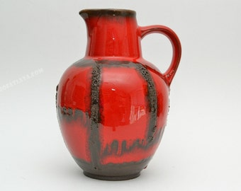 West German Fat Lava  vase by Ruscha  310/1