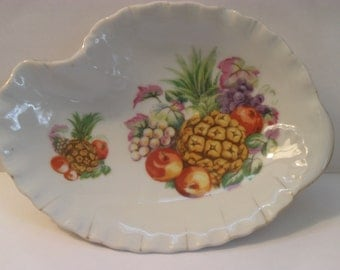 Vintage dish with pineapples-Made in Japan