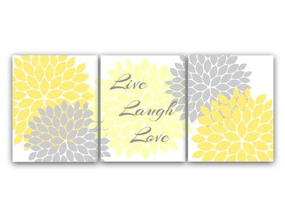 Bedroom Wall Art Live Laugh Love Instant Download Bath Art
