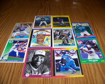 50 Toronto Blue Jays Baseball Cards
