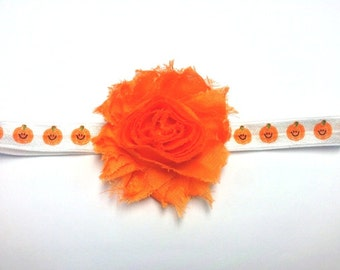 Orange Pumpkin Headband