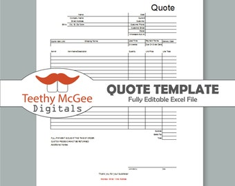 quote form template